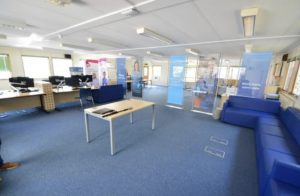 Former office to residential development for supported living
