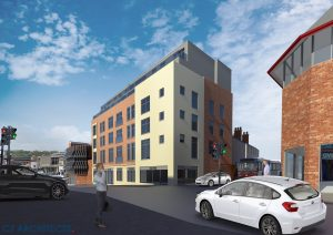 Taylor Capital: CGIs for Norwich House commercial to residential development